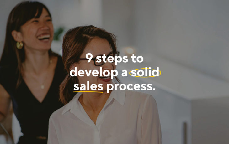 How To Develop A Solid Sales Process For Your Small Business