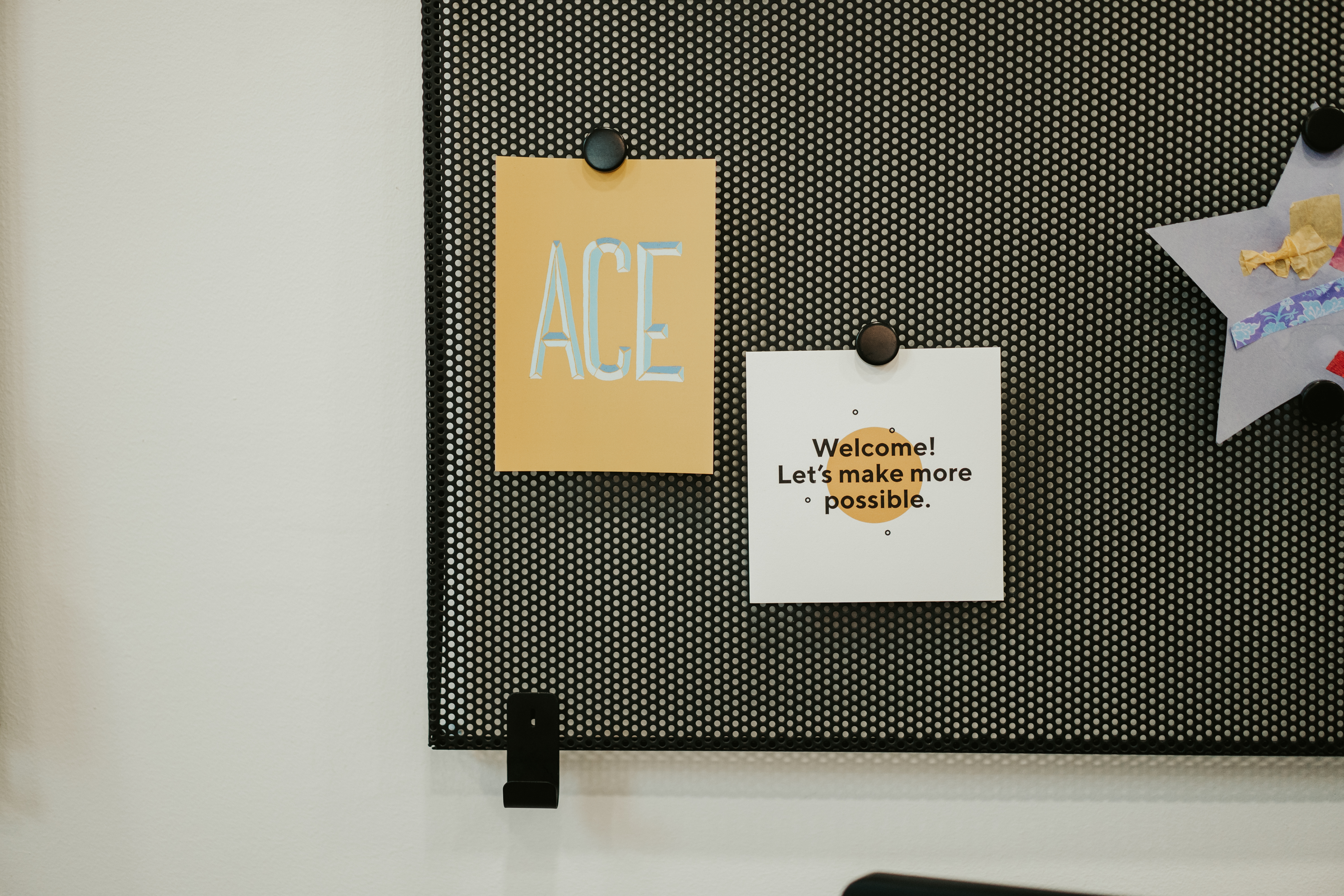 Notice Board In Orbit Office With Making More Possible